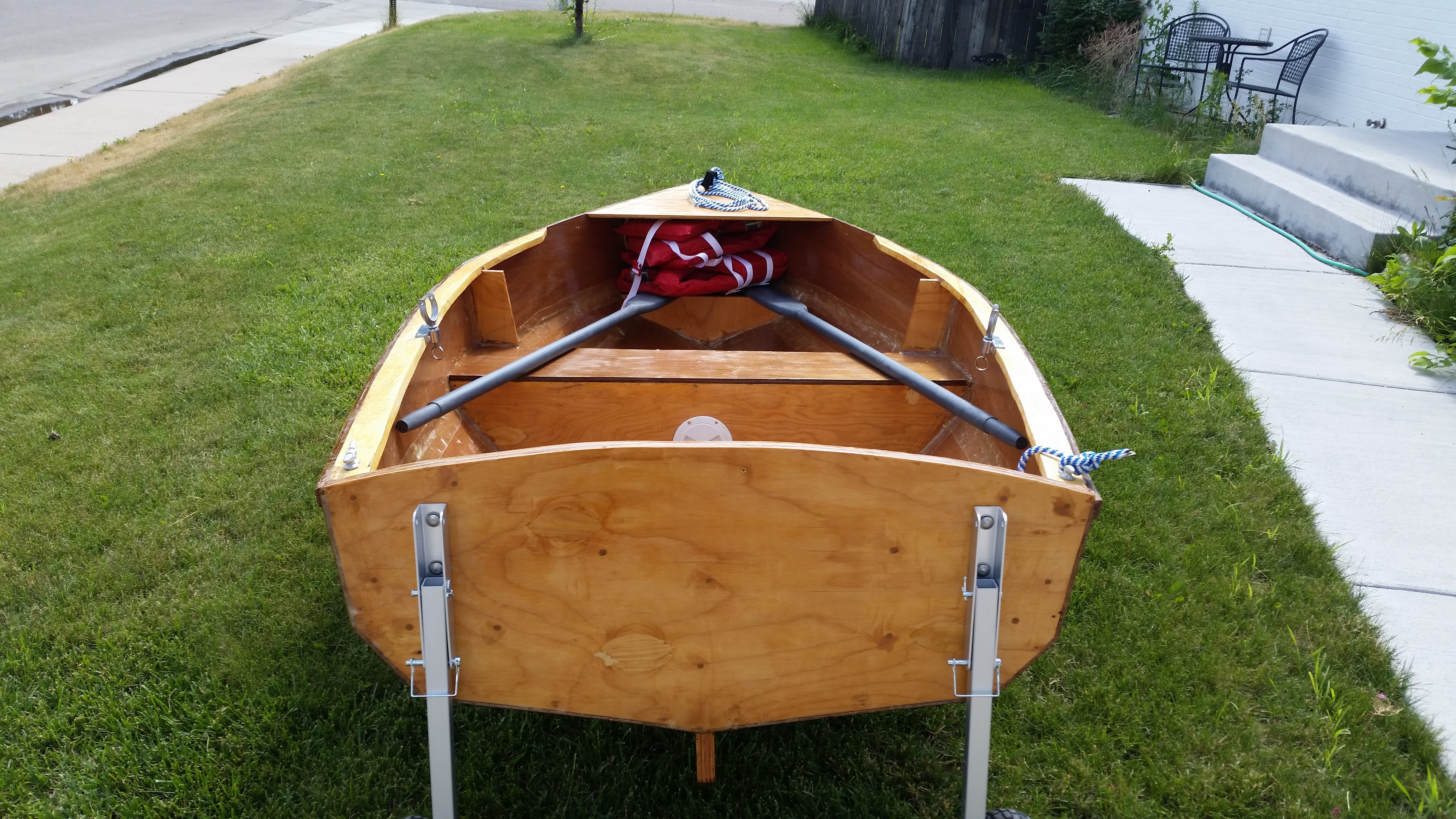 Les' Bernarda Boat Build